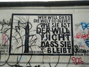 Erich Fried und der Vandalismus (Foto: Louisa Goldstein)