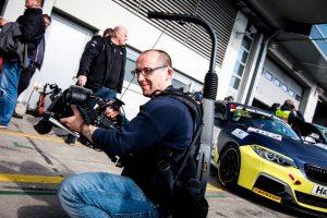 Marco Eisenbarth (32), Hauptberuf: Kameramann. Foto: Nürburgring.TV