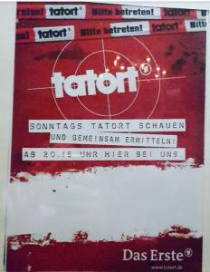 Ein kleines Werbeplakat der Südstadt Studikneipe. Foto: Lena Schmidt