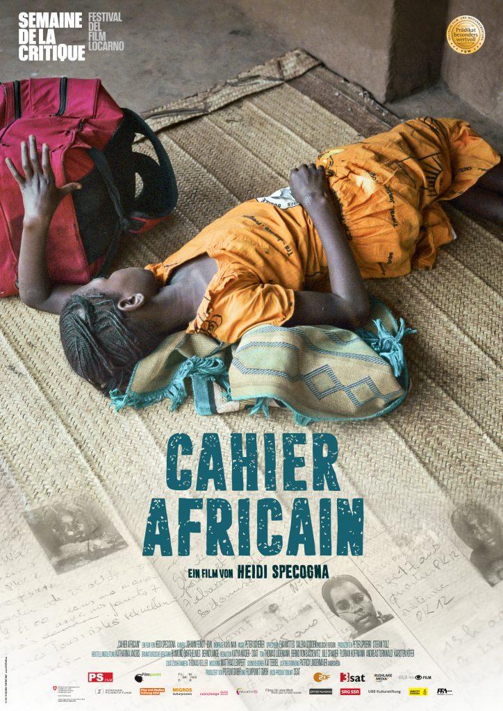 """© déjàvu-film Filmplakat von """"Cahier Africain"""""""