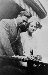 König George VI. und Königin Elizabeth, 1939