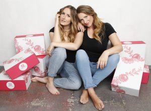 Die Gründerinnen von SugarShape: Laura (links) und Sabrina (rechts) ©SugarShape GmbH