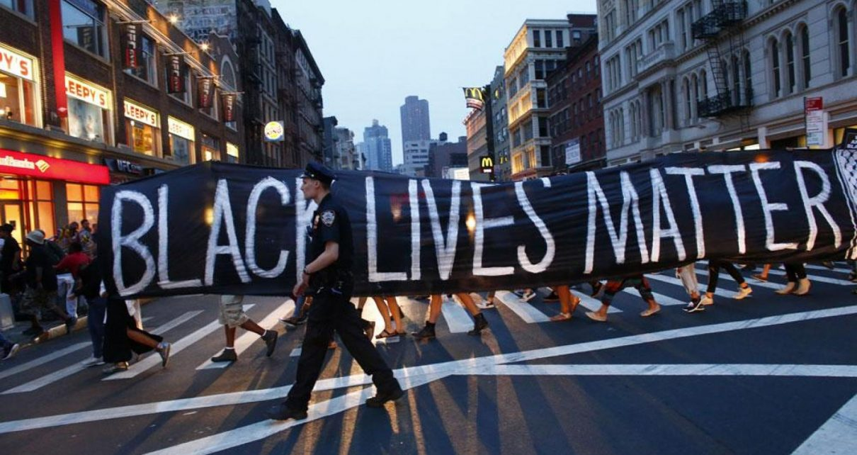 Fotoquelle: Black Lives Matter-Protest in New York City. Foto: KENA BETANCUR/AFP via Getty Images