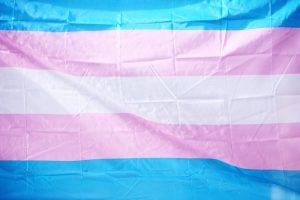 Bild der trans* Flagge https://unsplash.com/photos/uUkjeWxSh7c