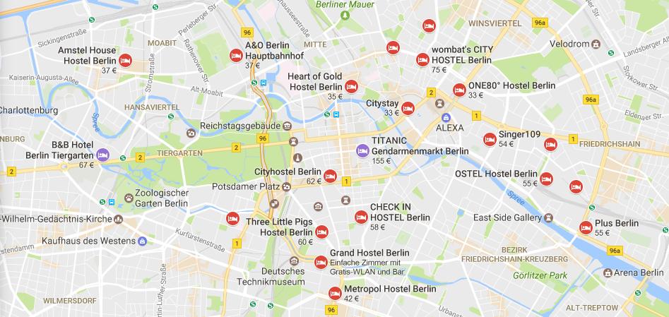 (Screenshot: Google Maps)