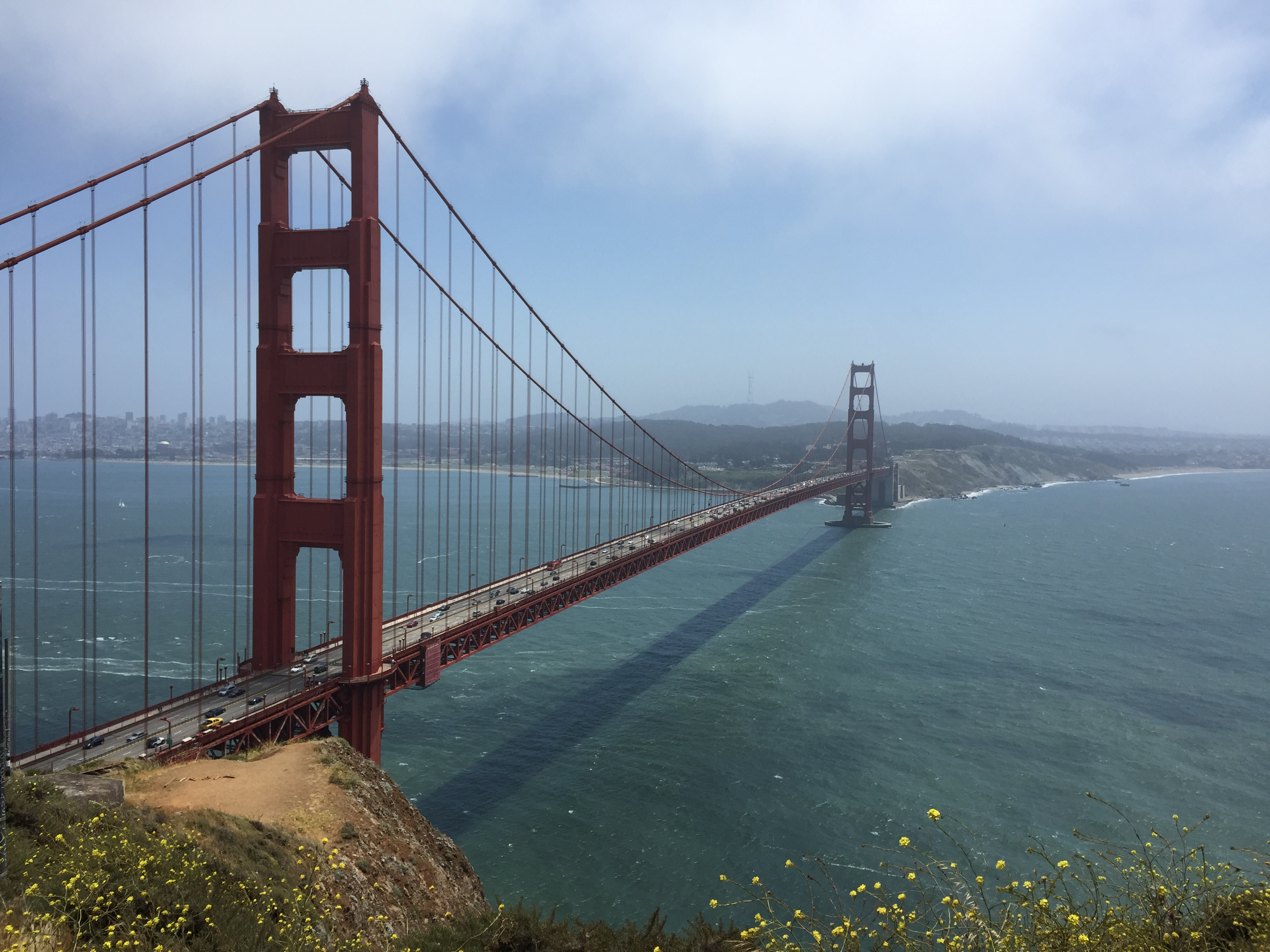 Golden Gate Bridge, San Francisco. Foto: Andreas Möller