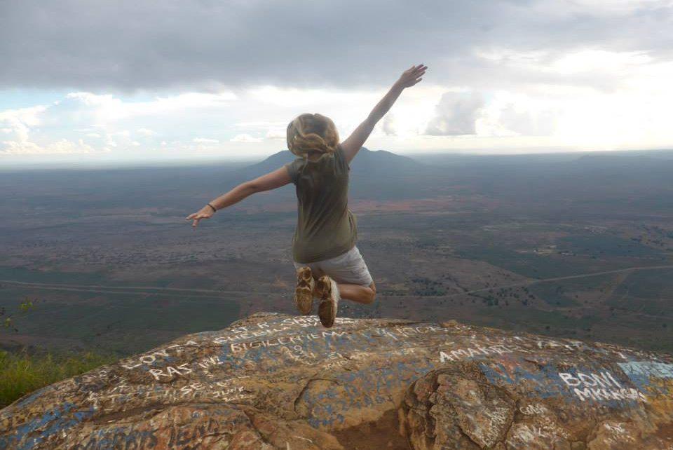 Katharina, 23. im moshi Mjini Centre in Tansania, Afrika (Foto: Katharina Kuckeland)