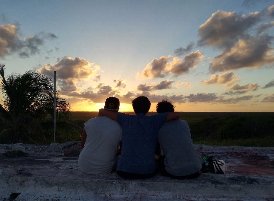 Sonnenuntergang in Quintana Roo (Foto: Hoan Huynh)