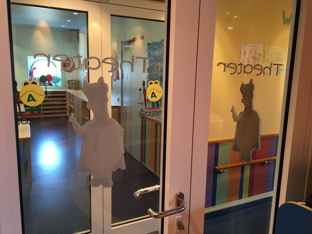 Miriams Arbeitsplatz: Der Kids Club für die Kleinen. Foto: Nina Feldkamp