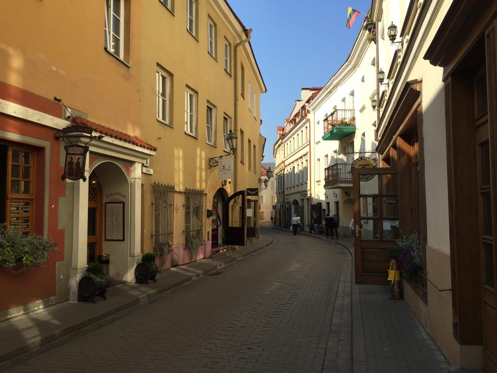 Gassen von Vilnius Litauen (Foto: Ksenia Felker)