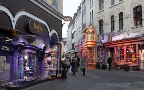 Mit der App könnte Bonns Innenstadt zur Winkelgasse werden.