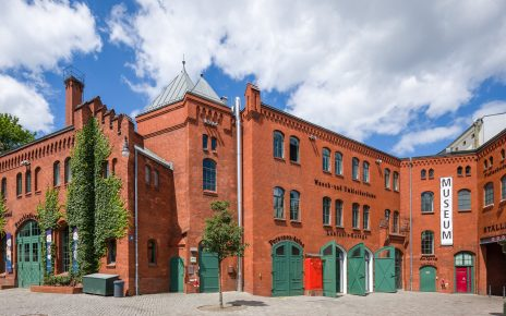 Museum-in-Kulturbrauerei-Aussenansicht