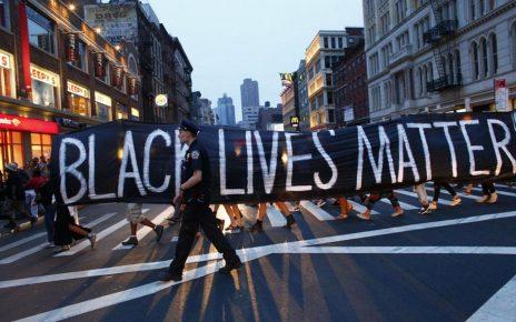Fotoquelle: Black Lives Matter-Protest in New York City. Foto: KENA BETANCUR/AFP via Getty Images